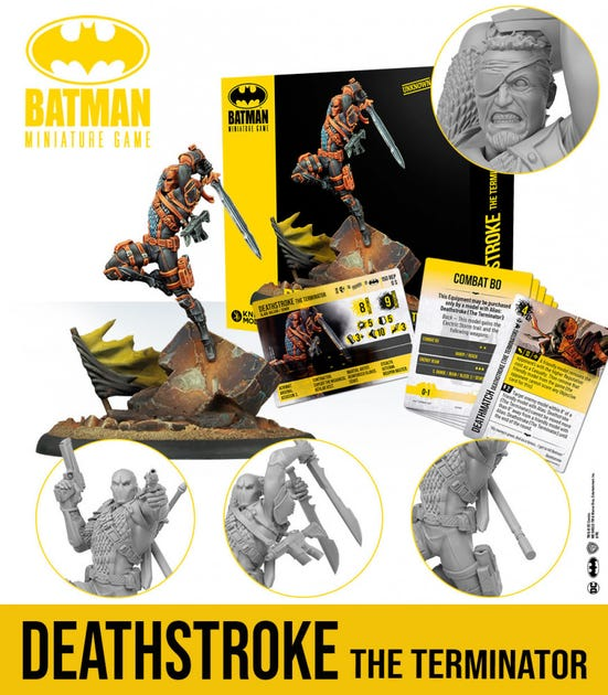 Deathstroke the Terminator - English