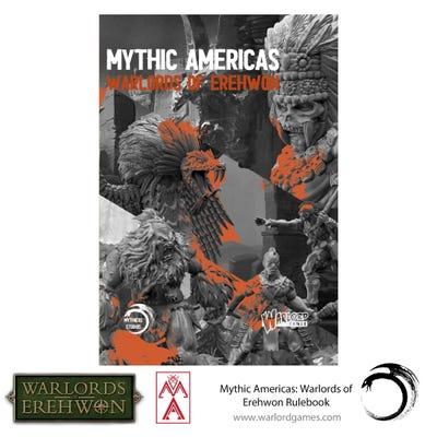 Mythic America Warlord of Erehwon Rulebook