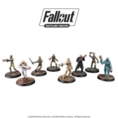 Fallout: Wasteland Warfare - Institute Core Box