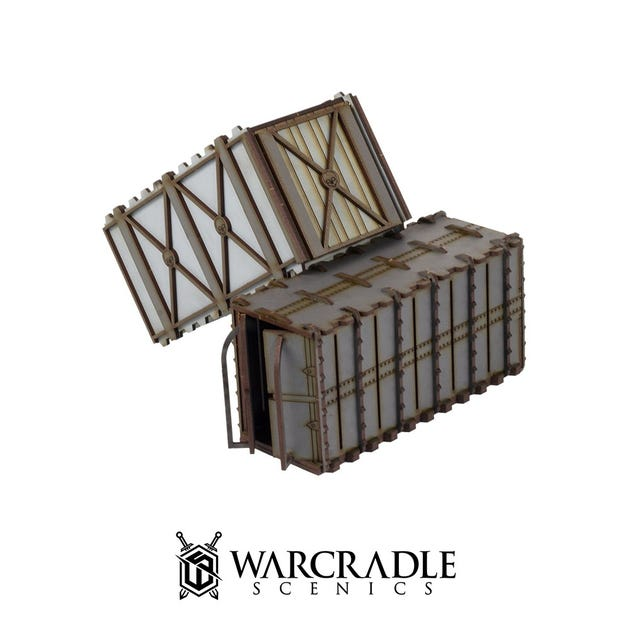 Omega Defence - Armoured Containers