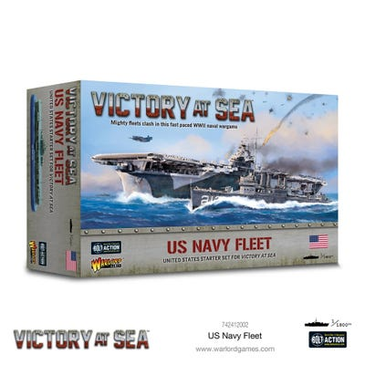 Victory at Sea US Navy Fleet Box