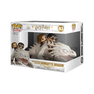 POP Rides: Harry Potter - Dragon with Harry, Ron, & Hermione