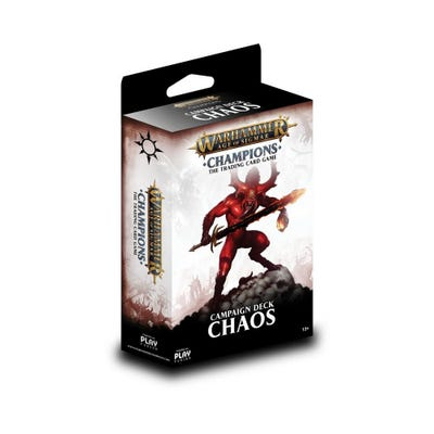 Warhammer Age of Sigmar: Champions Wave 1 Campaign Deck - Chaos