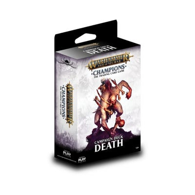 Warhammer Age of Sigmar: Champions Wave 1 Campaign Deck - Death