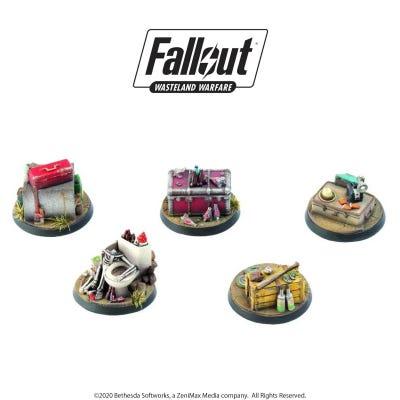 Fallout: Wasteland Warfare - Objective Markers 1