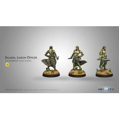 Saladin, Liaison Officer (Combi Rifle)