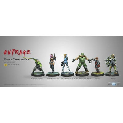 Outrage Characters Pack