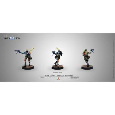 Cube Jagers, Mercenary Recoverers (Submachine Gun)