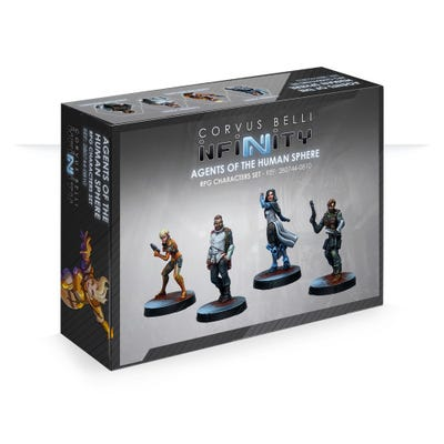 Agents of the Human Sphere RPG Characters Set