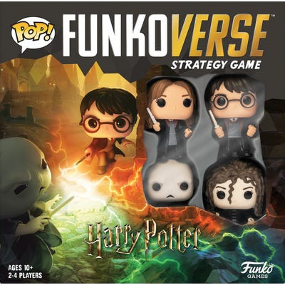 POP! Funkoverse: Harry Potter - 100 - Base Set 4-Pack