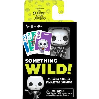 Something Wild! Card Game - Nightmare Before Christmas