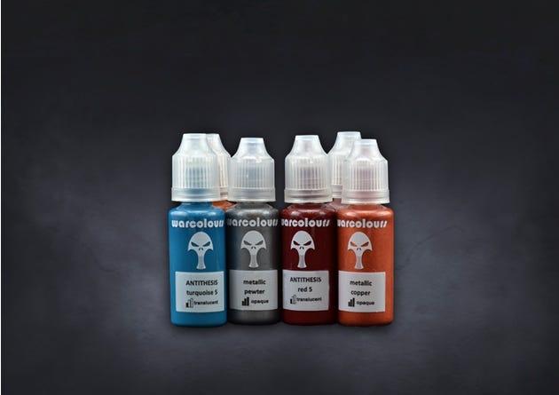 Dweghom: WarColours Paint Set