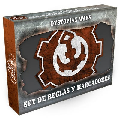 Dystopian Wars Rules & Gubbins Set - Spanish