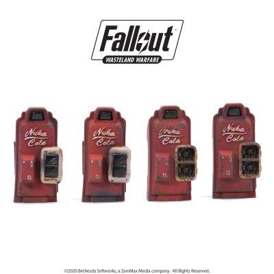 Fallout: Wasteland Warfare - Terrain Expansion: Nuka Cola Machines