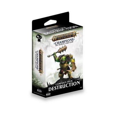 Warhammer Age of Sigmar: Champions Wave 1 Campaign Deck - Destruction