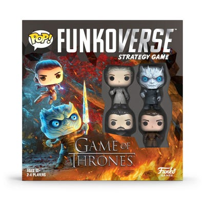 POP! Funkoverse: Game of Thrones - 100 - Base Set 4-Pack