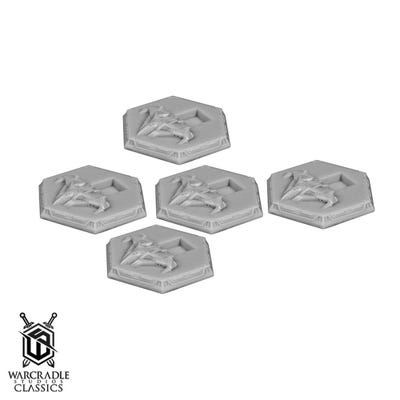 Hawker Industries Bomber Tokens x5