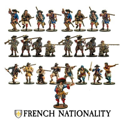 French Nationality Set