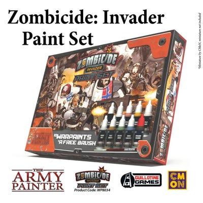 Zombicide: Invader Paint Set