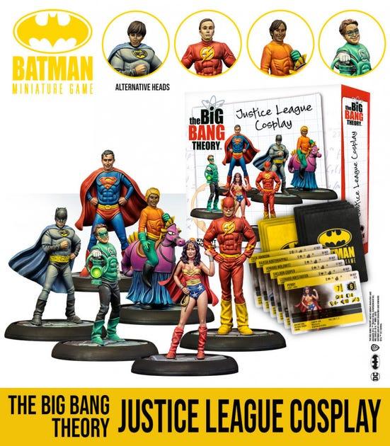 The Big Bang Theory Justice League Cosplay