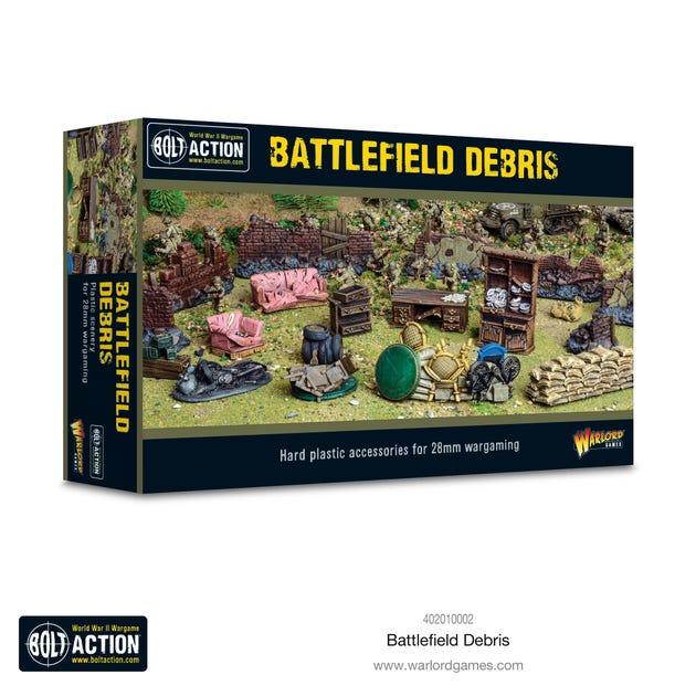 Bolt Action Battlefield Debris