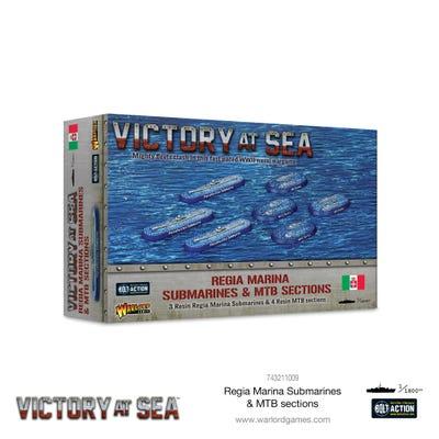 Regia Marina Submarines & MTB Sections