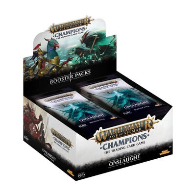 Warhammer Age of Sigmar: Champions Wave 2 Onslaught Booster Box