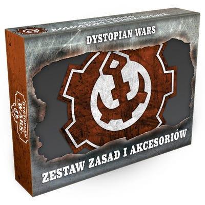 Dystopian Wars Rules & Gubbins Set - Polish