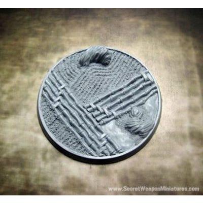 Beveled Edge: 60mm Asian Garden 01