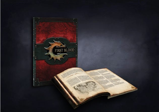 First Blood Softcover Rulebook - English
