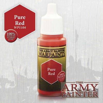Warpaints : Pure Red