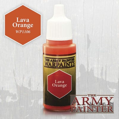 Warpaints: Lava Orange
