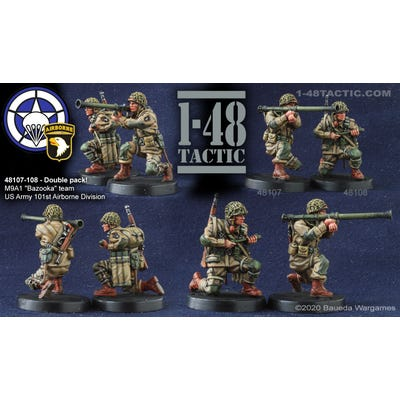 M9A1 Bazooka Team Double Pack - US Army 101st Airborne Division