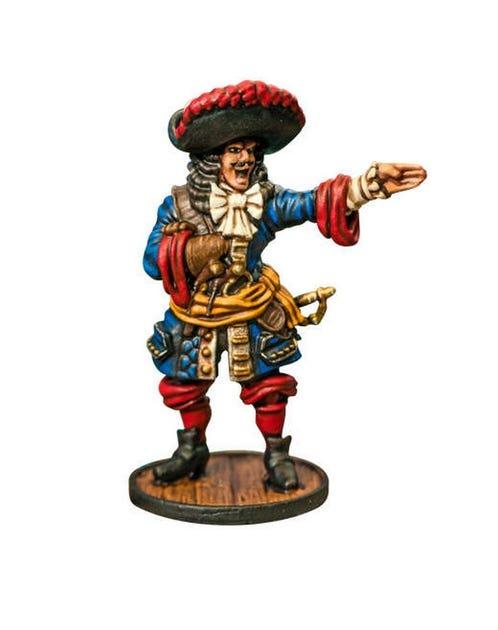 French Buccaneer Commander