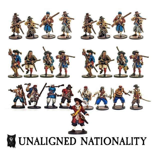 Unaligned Nationality Set