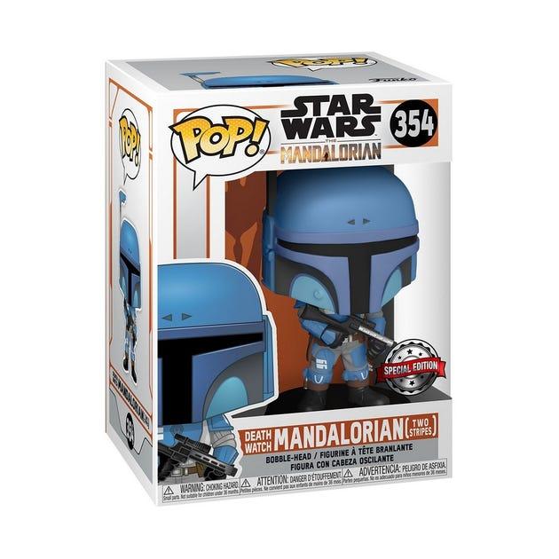 POP! Vinyl: Star Wars: The Mandalorian - Flashback Blue