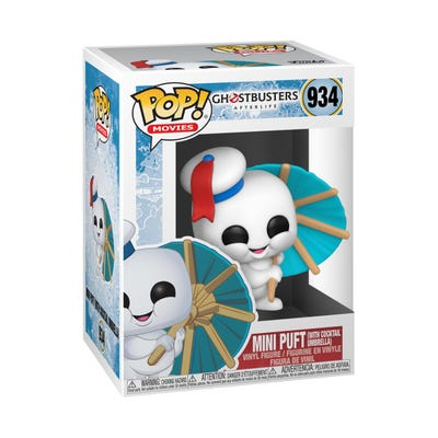POP! Vinyl: Ghostbusters: Afterlife - Mini Puft w/ Cocktail Umbrella