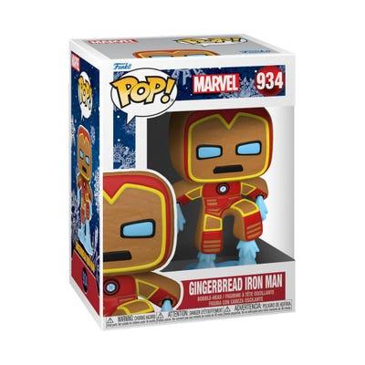 POP! Vinyl: Marvel: Holiday - Gingerbread Iron Man