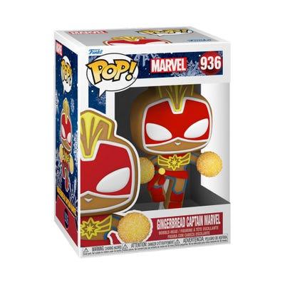 POP! Vinyl: Marvel: Holiday - Gingerbread Captain Marvel