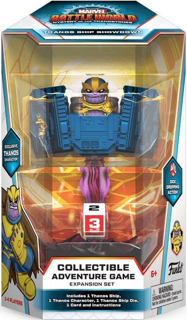 Marvel Battleworld: Thanos Ship Showdown