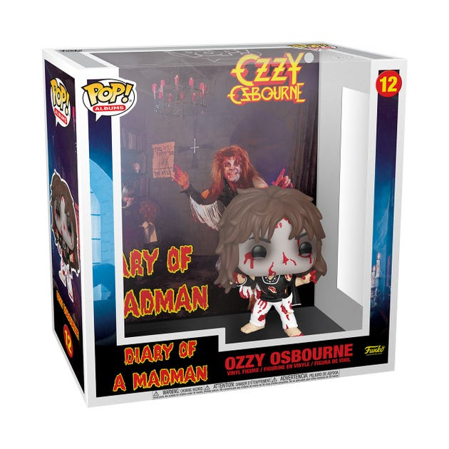 POP! Vinyl: Albums: Ozzy Osbourne - Diary of a Madman