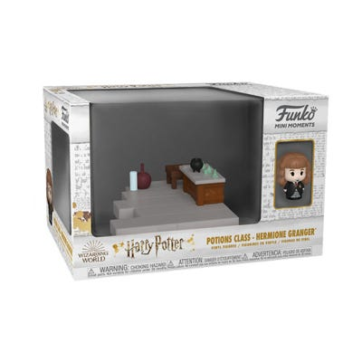 POP! Vinyl: Mini Moments: HP Anniversary - Potions Class Hermione w/ Cho Chase