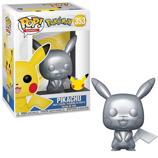 "POP! Vinyl: Pokemon S5 - 10"" Chrome Pikachu"