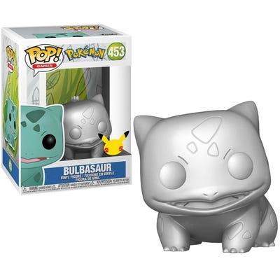 """POP! Vinyl: Pokemon S6 - 10"""" Chrome Bulbasaur"""
