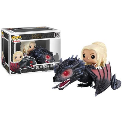 POP! Rides: Game of Thrones: Drogon & Daenerys