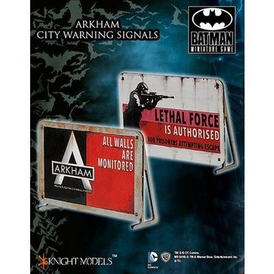 Arkham City Warning Signal