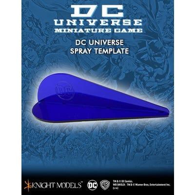 DC Universe Spray Template