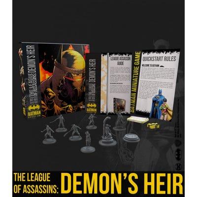 The League Of Assassins: Demon's Heir