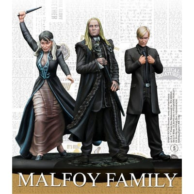Malfoy Family - Harry Potter Miniatures
