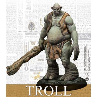 Troll Adventure Pack - Harry Potter Miniatures